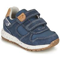 Pantofi Băieți Pantofi sport Casual Geox ALBEN BOY Albastru / Maro