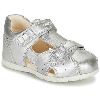 Pantofi Fete Sandale  Geox KAYTAN Argintiu