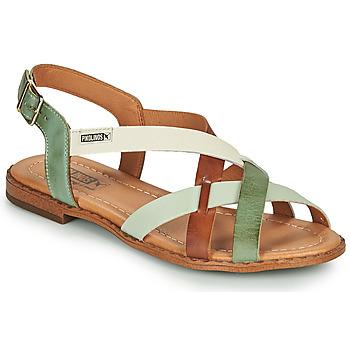 Pantofi Femei Sandale  Pikolinos ALGAR W0X Maro / Verde