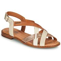 Pantofi Femei Sandale  Pikolinos ALGAR W0X Alb / Roz / Auriu