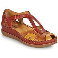 Pantofi Femei Sandale  Pikolinos CADAQUES W8K Roșu / Bej