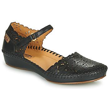 Pantofi Femei Balerin și Balerini cu curea Pikolinos P. VALLARTA 655 Negru