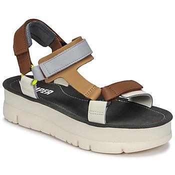 Pantofi Femei Sandale  Camper ORUGA UP Maro / Gri