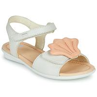 Pantofi Fete Sandale  Camper TWINS Roz / Alb