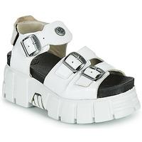 Pantofi Femei Sandale  New Rock M-BIOS101-C3 Alb