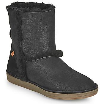Pantofi Femei Cizme casual El Naturalista LUX Negru