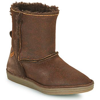 Pantofi Femei Ghete El Naturalista LUX Maro