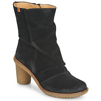 Pantofi Femei Botine El Naturalista LUX Negru