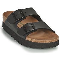 Pantofi Femei Papuci de vară Papillio ARIZONA GROOVED Negru