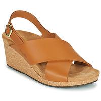 Pantofi Femei Sandale  Papillio SAMIRA RING BUCKLE Maro