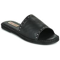 Pantofi Femei Papuci de vară Pare Gabia ROPLINE Negru