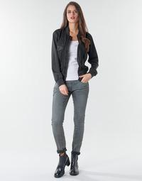 Îmbracaminte Femei Jeans skinny G-Star Raw 3301 Low Skinny Wmn Dk / Aged / Cobler