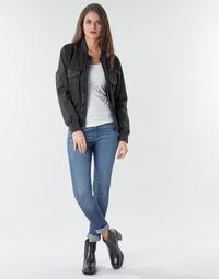 Îmbracaminte Femei Jeans skinny G-Star Raw 3301 Ultra High Super Skinny Wmn Dk / Aged
