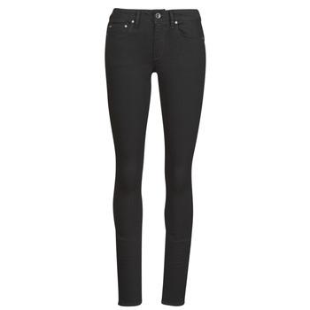 Îmbracaminte Femei Jeans skinny G-Star Raw Midge Zip Mid Skinny Wmn Pitch / Black