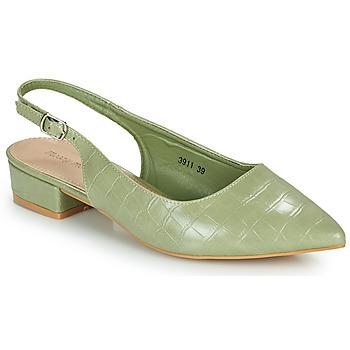 Pantofi Femei Pantofi cu toc Moony Mood OGORGEOUS Verde / MigdalĂ