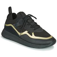 Pantofi Bărbați Pantofi sport Casual BOSS TITANIUM RUNN KNTH Negru / Auriu