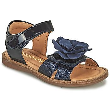 Pantofi Fete Sandale  Bisgaard AGNES Albastru