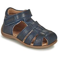 Pantofi Copii Sandale  Bisgaard CARLY Albastru