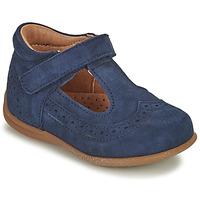 Pantofi Fete Balerin și Balerini cu curea Bisgaard RAE Albastru