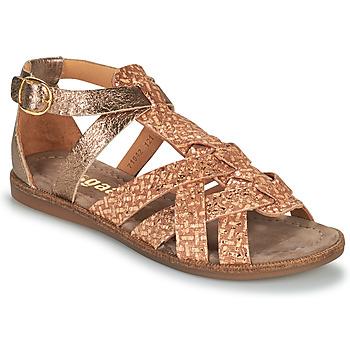 Pantofi Fete Sandale  Bisgaard CELINE Auriu