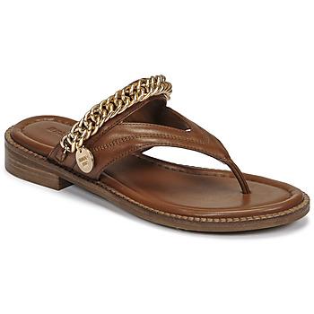 Pantofi Femei Sandale  Bronx NEW THRILL Maro / Auriu