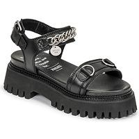 Pantofi Femei Sandale  Bronx GROOVY SANDAL Negru