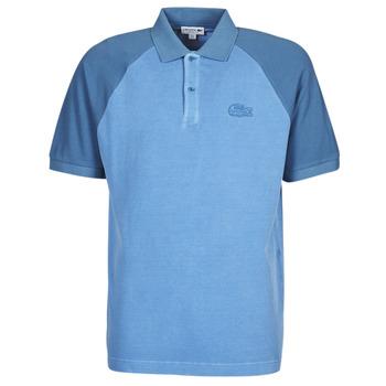 Îmbracaminte Bărbați Tricou Polo mânecă scurtă Lacoste POLO PH9745 Albastru