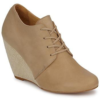 Pantofi Femei Botine D.Co Copenhagen EMILY Crem