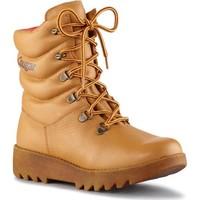 Pantofi Femei Ghete Cougar Pillow Leather Tan