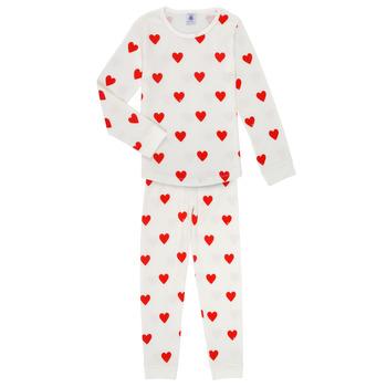 Îmbracaminte Fete Pijamale și Cămăsi de noapte Petit Bateau MISON Multicolor