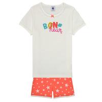 Îmbracaminte Fete Pijamale și Cămăsi de noapte Petit Bateau MARSHA Multicolor