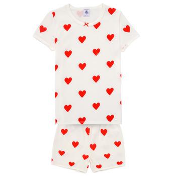 Îmbracaminte Fete Pijamale și Cămăsi de noapte Petit Bateau MICOURT Multicolor