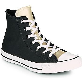 Pantofi Femei Pantofi sport stil gheata Converse CHUCK TAYLOR ALL STAR ANODIZED METALS HI Negru