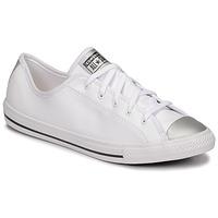 Pantofi Femei Pantofi sport Casual Converse CHUCK TAYLOR ALL STAR DAINTY ANODIZED METALS OX Alb