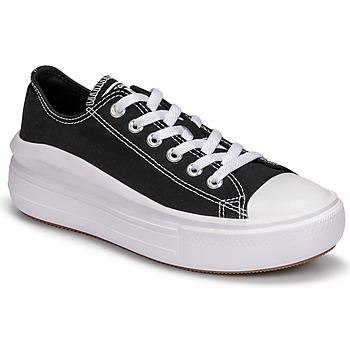 Pantofi Femei Pantofi sport Casual Converse CHUCK TAYLOR ALL STAR MOVE CANVAS COLOR OX Negru