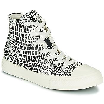 Pantofi Fete Pantofi sport stil gheata Converse CHUCK TAYLOR ALL STAR DIGITAL DAZE HI Negru / Alb