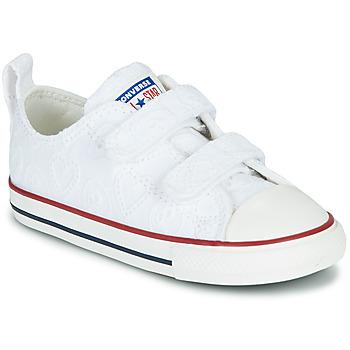 Pantofi Fete Pantofi sport Casual Converse CHUCK TAYLOR ALL STAR 2V LOVE CEREMONY OX Alb