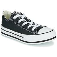 Pantofi Fete Pantofi sport Casual Converse CHUCK TAYLOR ALL STAR EVA LIFT EVERYDAY EASE OX Negru
