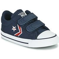 Pantofi Băieți Pantofi sport Casual Converse STAR PLAYER 2V TEXTILE DISTORT OX Albastru / Roșu