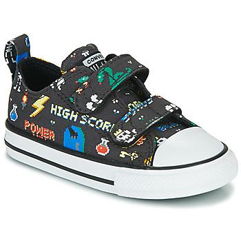 Pantofi Băieți Pantofi sport Casual Converse CHUCK TAYLOR ALL STAR 2V BOYS GAMER OX Negru /  multicolor