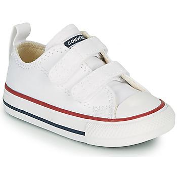 Pantofi Copii Pantofi sport Casual Converse CHUCK TAYLOR ALL STAR 2V FOUNDATION OX Alb