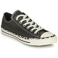 Pantofi Femei Pantofi sport Casual Converse CHUCK TAYLOR ALL STAR ARCHIVE DETAILS OX Negru / Leopard