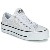 Pantofi Femei Pantofi sport Casual Converse CHUCK TAYLOR ALL STAR LIFT BREATHABLE OX Alb