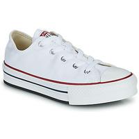 Pantofi Fete Pantofi sport Casual Converse CHUCK TAYLOR ALL STAR EVA PLATFORM FOUNDATION OX Alb