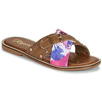 Pantofi Femei Papuci de vară Kaporal EMILI Maro / Multicolor