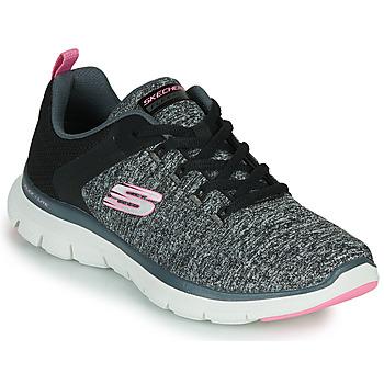 Pantofi Femei Fitness și Training Skechers FLEX APPEAL 4.0 Gri / Roz