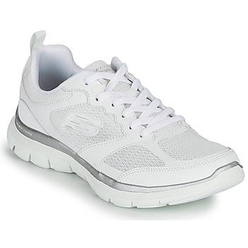 Pantofi Femei Fitness și Training Skechers FLEX APPEAL 4.0 Alb