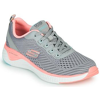 Pantofi Femei Fitness și Training Skechers SOLAR FUSE COSMIC VIEW Gri / Roz
