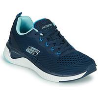 Pantofi Femei Fitness și Training Skechers SOLAR FUSE COSMIC VIEW Albastru