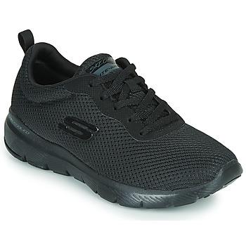 Pantofi Femei Fitness și Training Skechers FLEX APPEAL 3.0 Negru